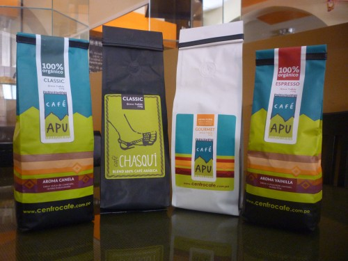 Cenfrocafe produces specialty coffees from 18 varieties of coffee grown by its members.